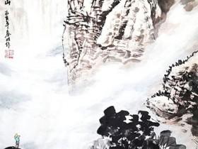 老春山水画作品(二)